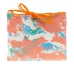 CB1435 Multi Color Tie-dye Pattern Mini Bag, Orange